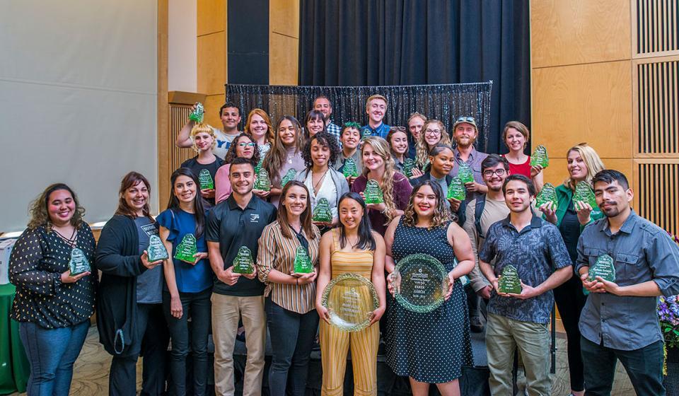 Outstanding Student Award Recipients, 2019