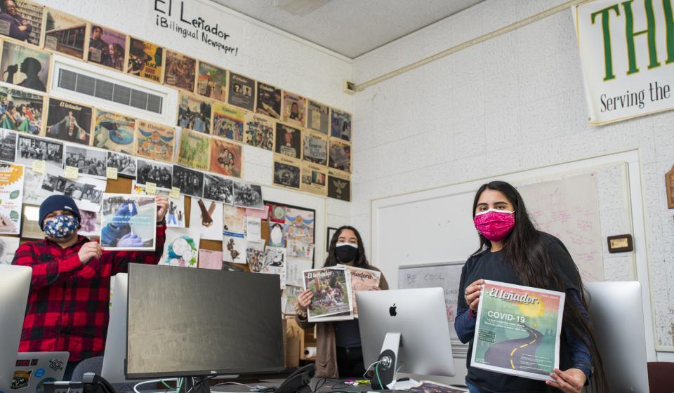 Journalism students